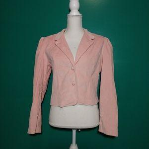 Baby pink 80's vintage blazer